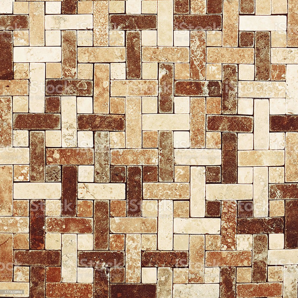 mosaic tile royalty-free stock photo