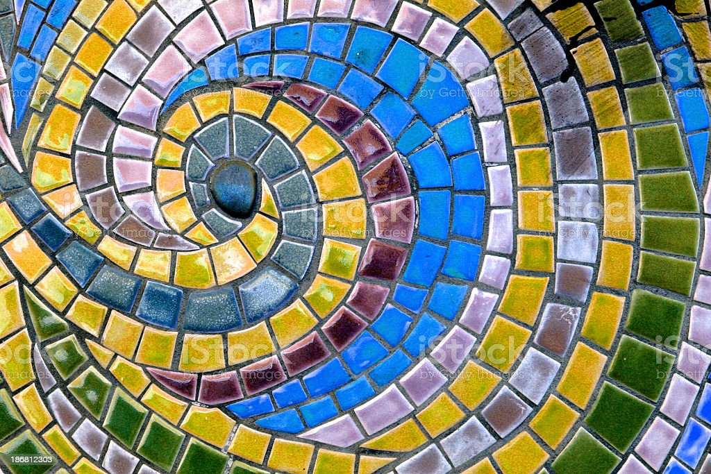 Mosaic Tile stock photo
