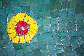 Mosaic tiles background - Stock image