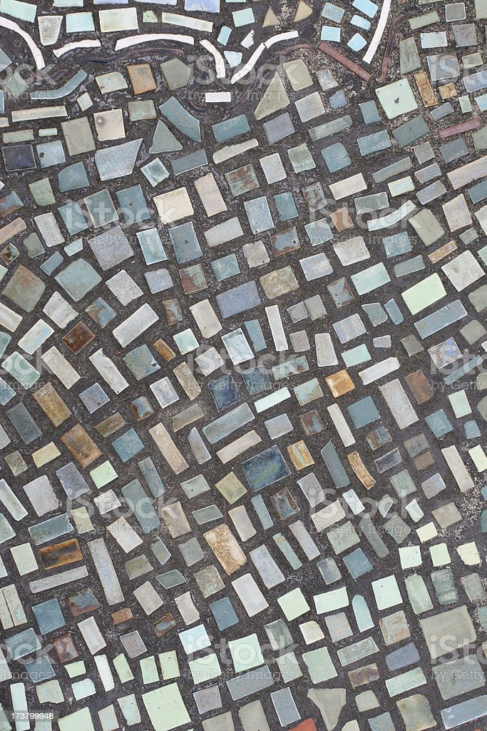 Mosaic tiles royalty-free stock photo