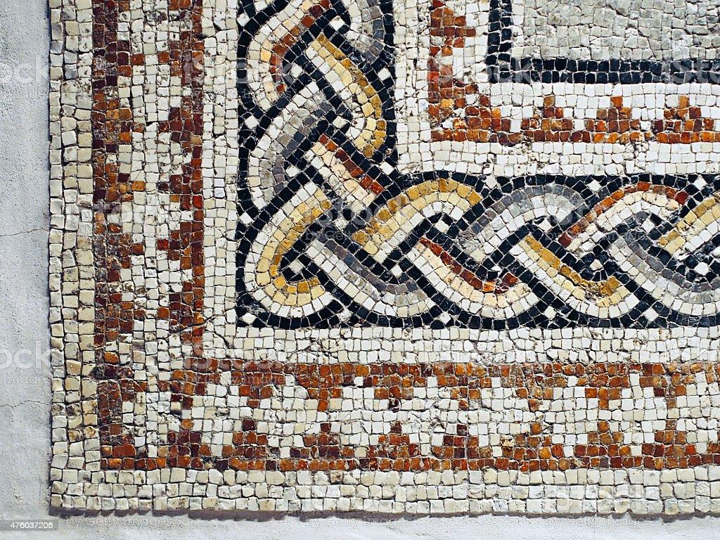 Mosaic Tiles stock photo