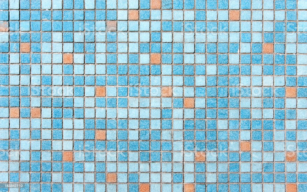 Mosaic tiles textured background royalty-free stock photo