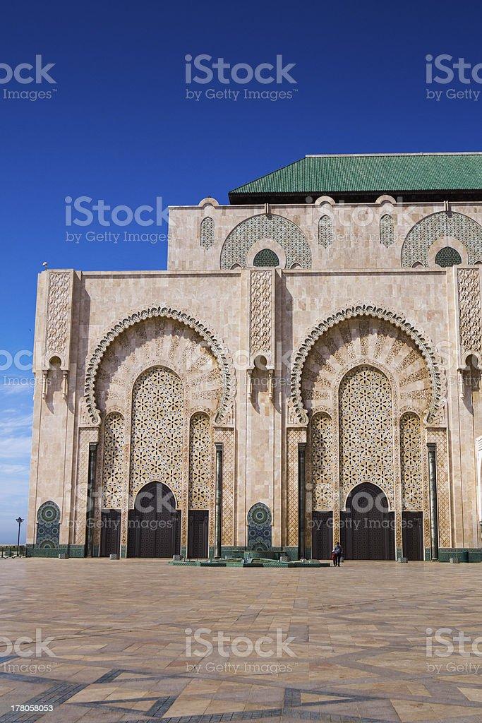 Moschea di Hassan II, Casablanca, Marocco stock photo