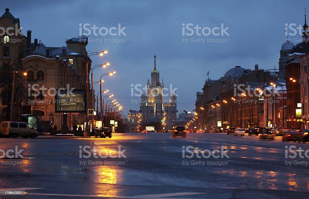Moscou por diária foto royalty-free