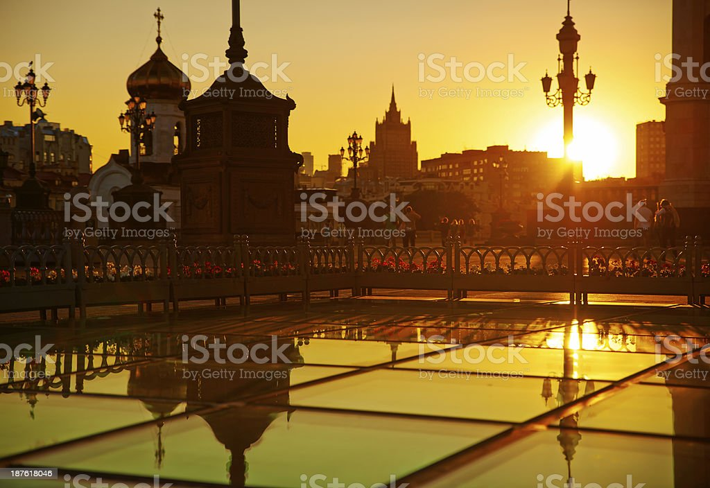 Moscow,  Cathedral of Christ the Savior. royalty-free stock photo