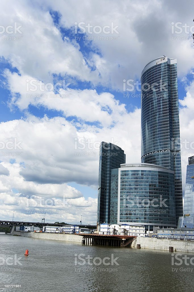 Moscow City 4 royalty-free stock photo