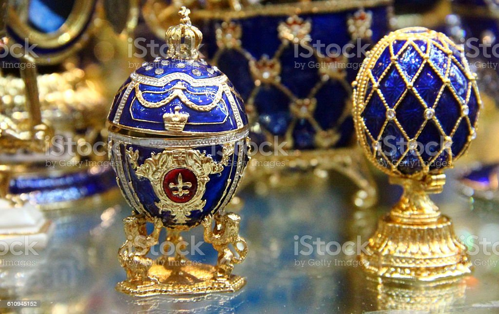 Moscow: Fabergè egg stock photo