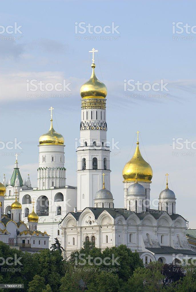 Moscow Kremlin Monastery royalty-free stock photo