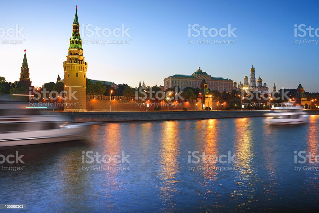Moscow Kremlin. royalty-free stock photo