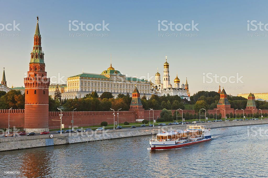 Moscow kremlin stock photo
