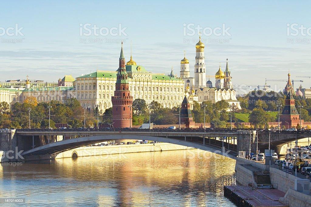 Moscow, Kremlin royalty-free stock photo