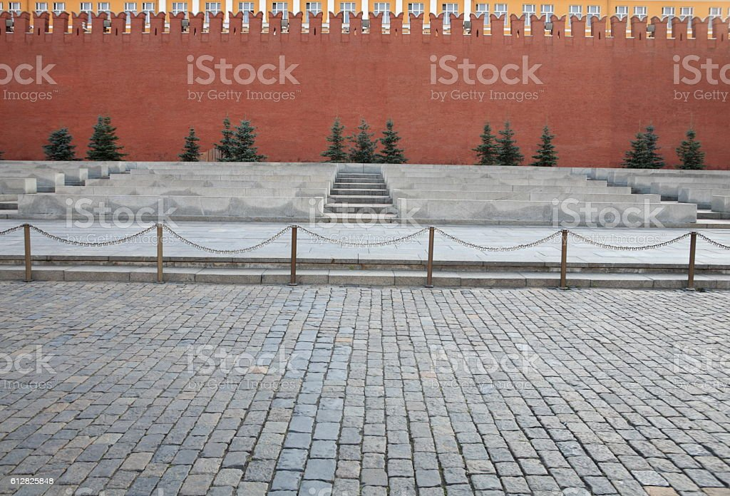 Moscow kremlin red square stock photo