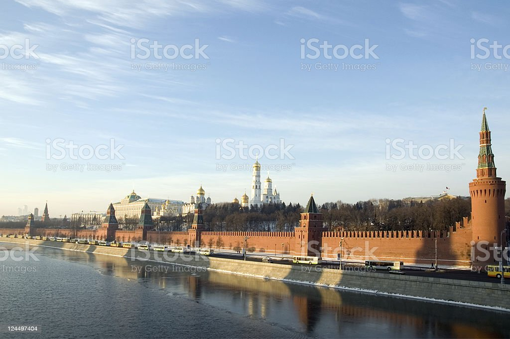 Moscow Kremlin Russia royalty-free stock photo
