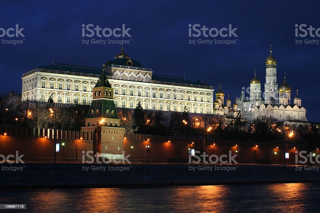 Moscow Kremlin, Russia royalty-free stock photo