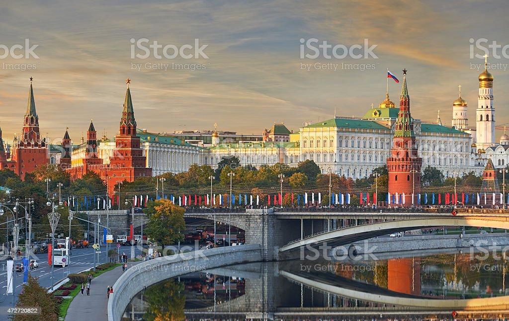 Moscow Kremlin, Russia stock photo