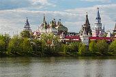 Moscow landscape. Kremlin in Izmailovo