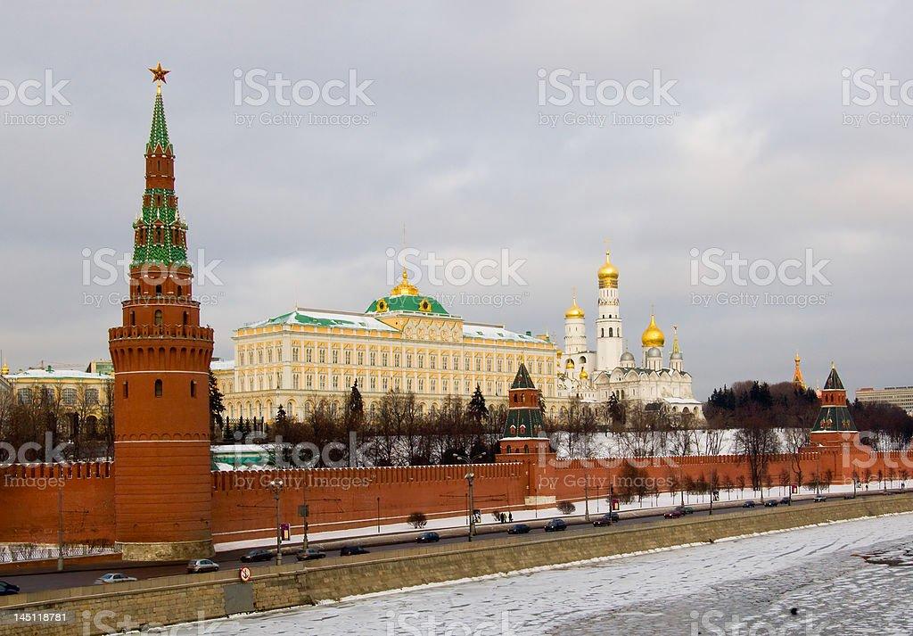 Moscou, próximo à área de vermelho. foto royalty-free