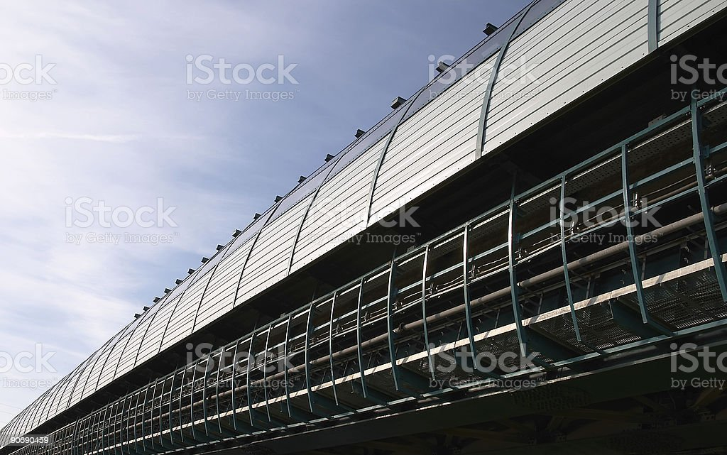 Moscow overland subway 1. royalty-free stock photo