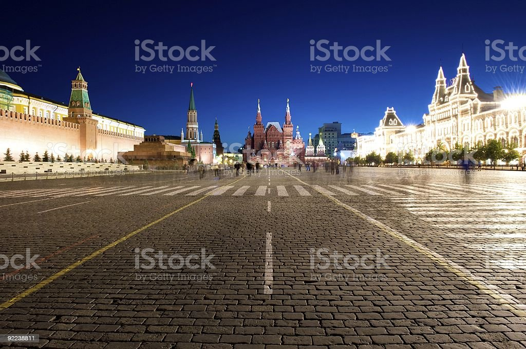 Moscow, Red Square. stock photo