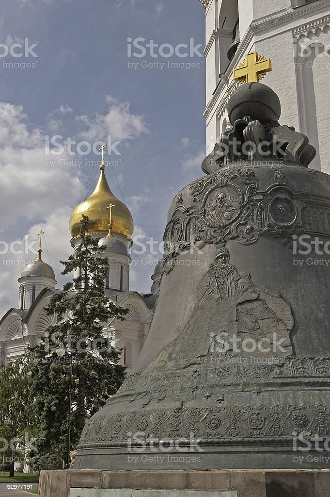 Moscow, Russia, The Tsar Bell royalty-free stock photo