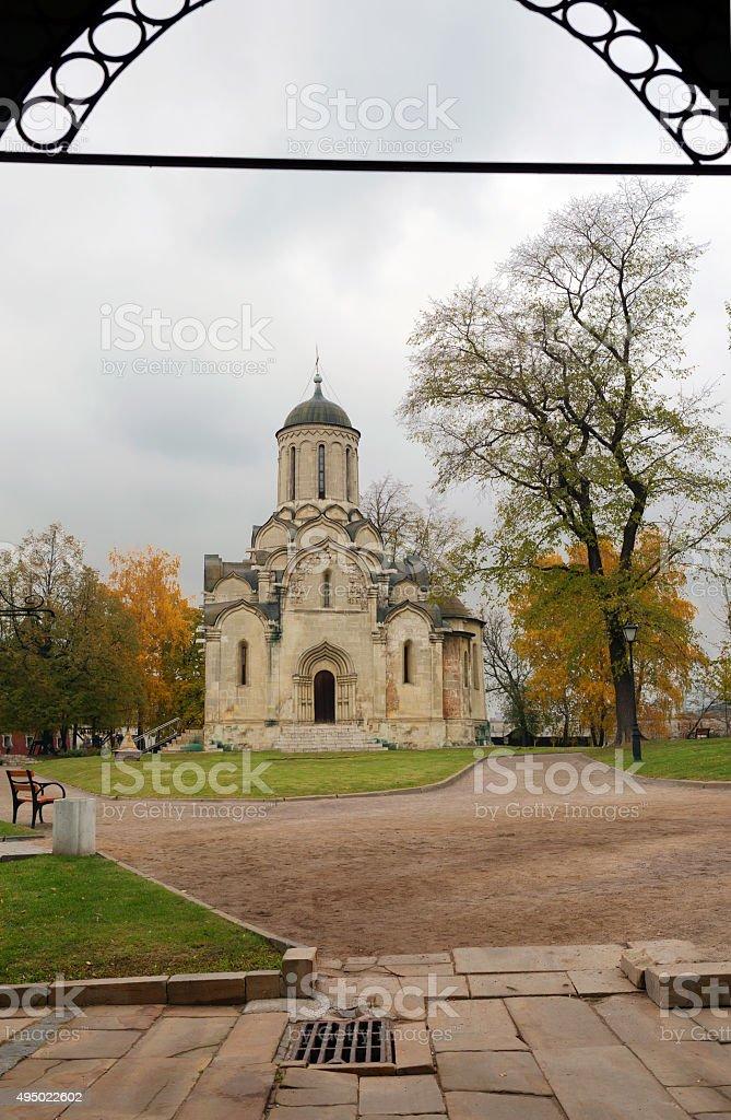 Moscow. Spaso-Andronikov monastery. stock photo