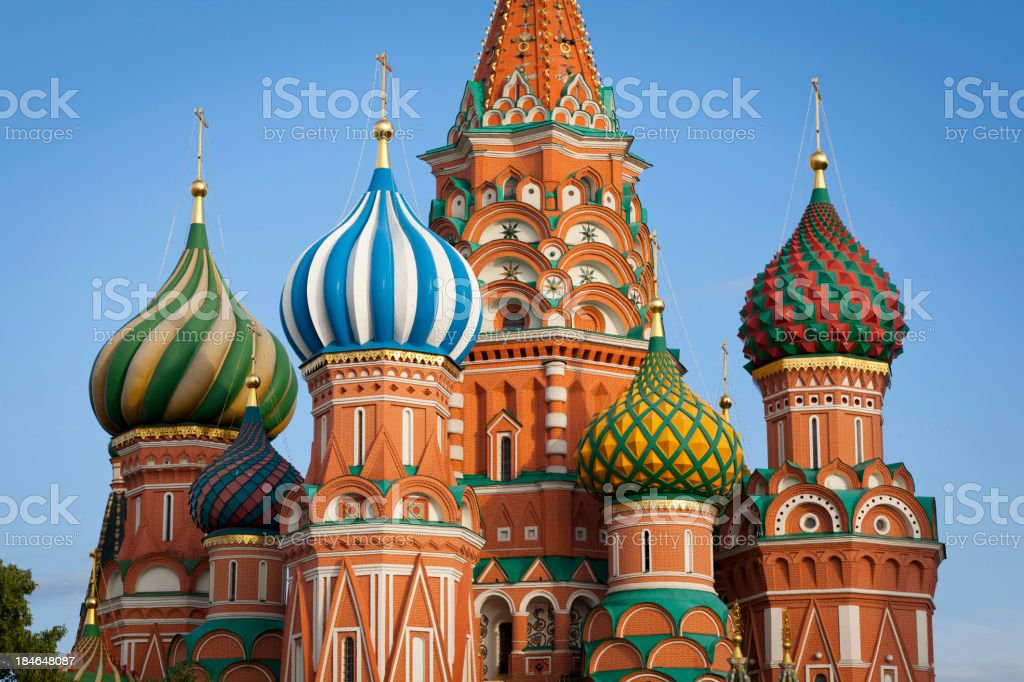 Moscow. St.Basil Cathedral royalty-free stock photo