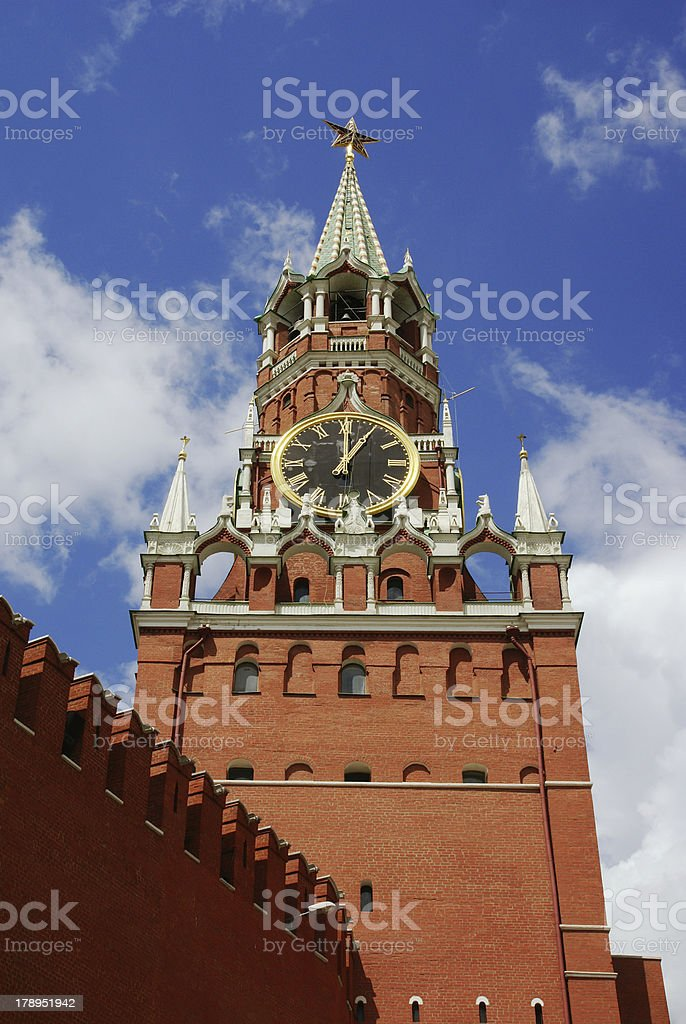 Moscow. Symbol of Russia royalty-free stock photo