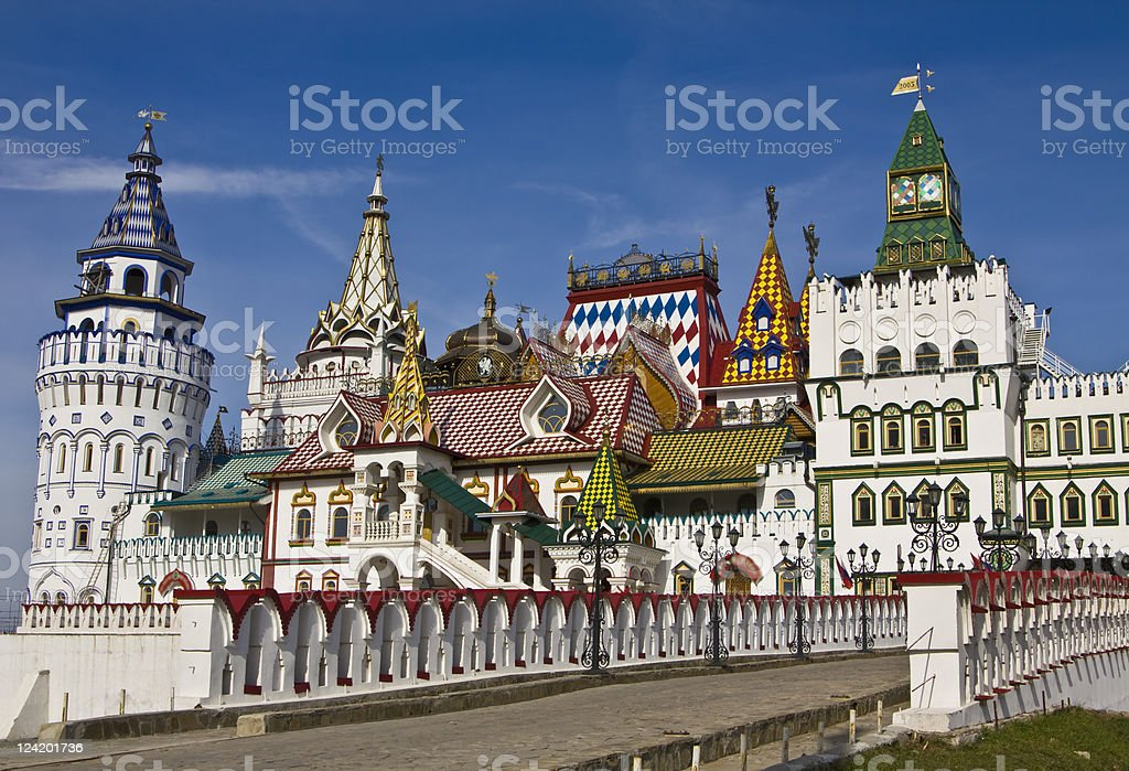 Moscow, vernisage Izmaylovo royalty-free stock photo