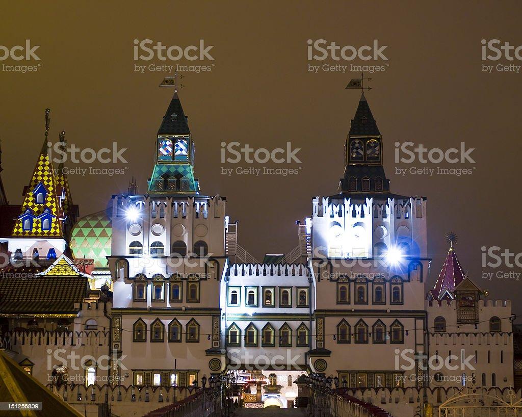 Moscow, 'Vernisage Izmaylovo' royalty-free stock photo