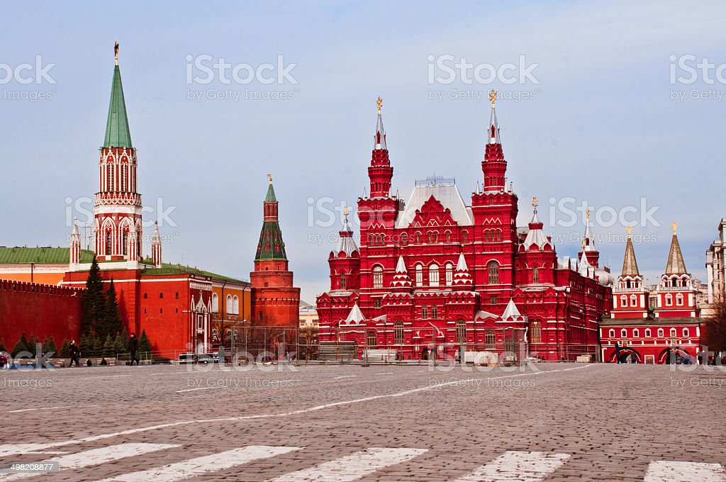 Moscow's Red Square stock photo