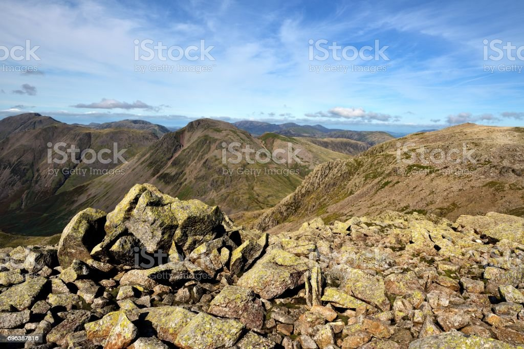Mosedale and Wasdale stock photo