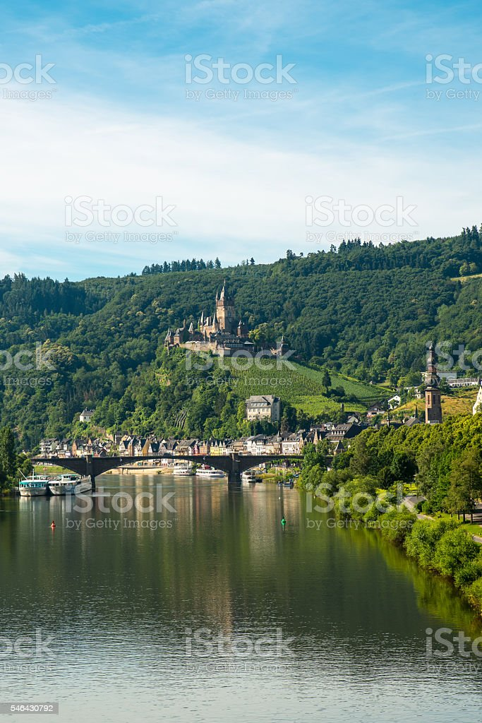 Mosel stock photo