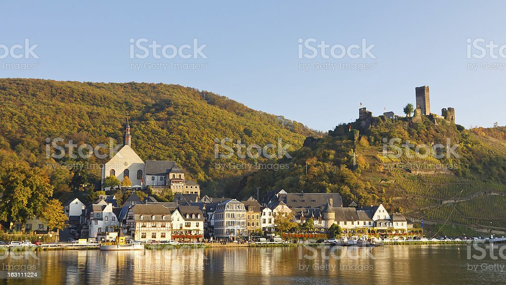 Moselle Scenery in Germany stock photo