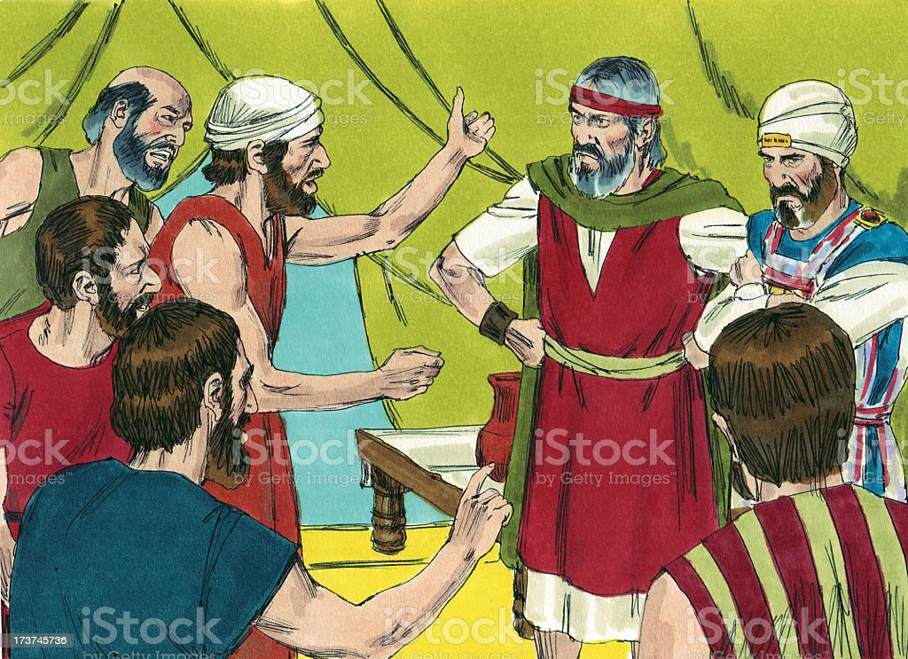 Moses, Israelites, High Priest stock photo