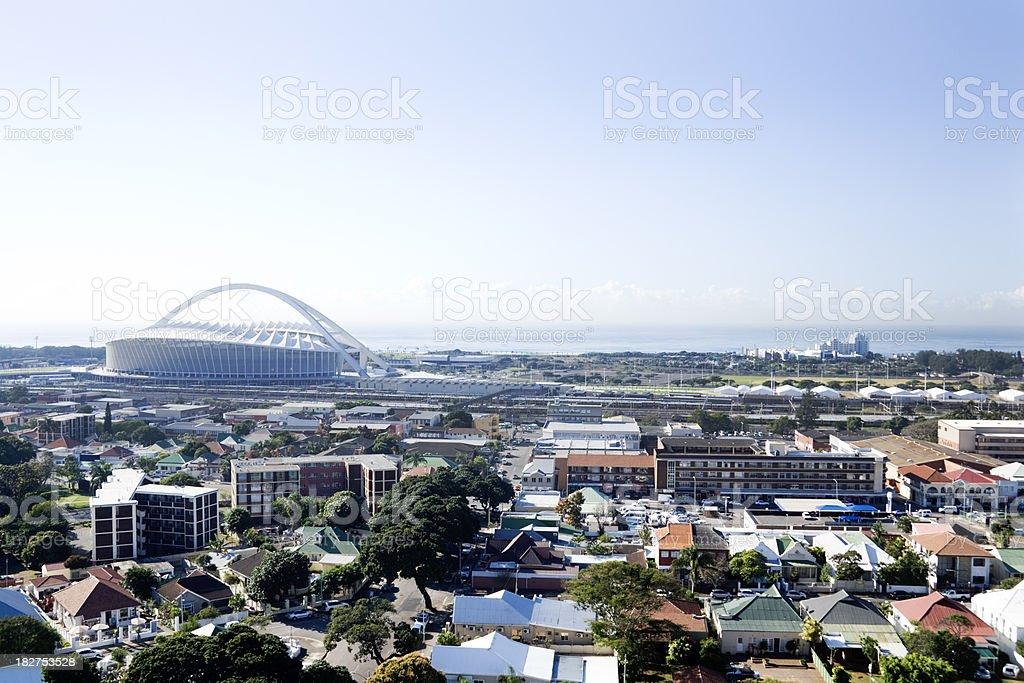 Moses Mabhida stadium Durban South Africa stock photo