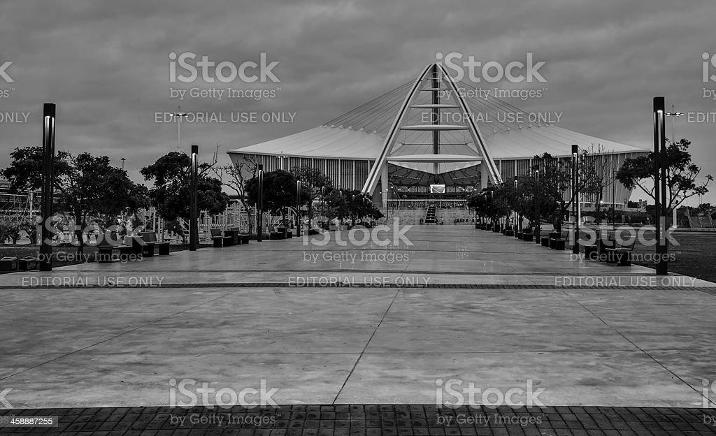 Moses Mabhida Stadium royalty-free stock photo