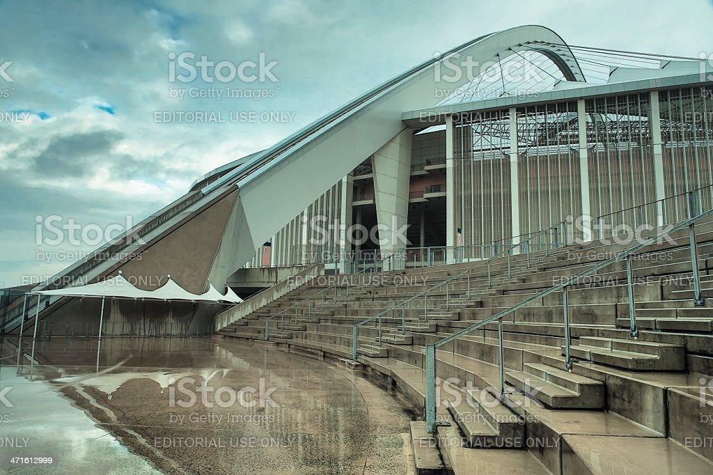 Moses Mabhida Stadium stock photo