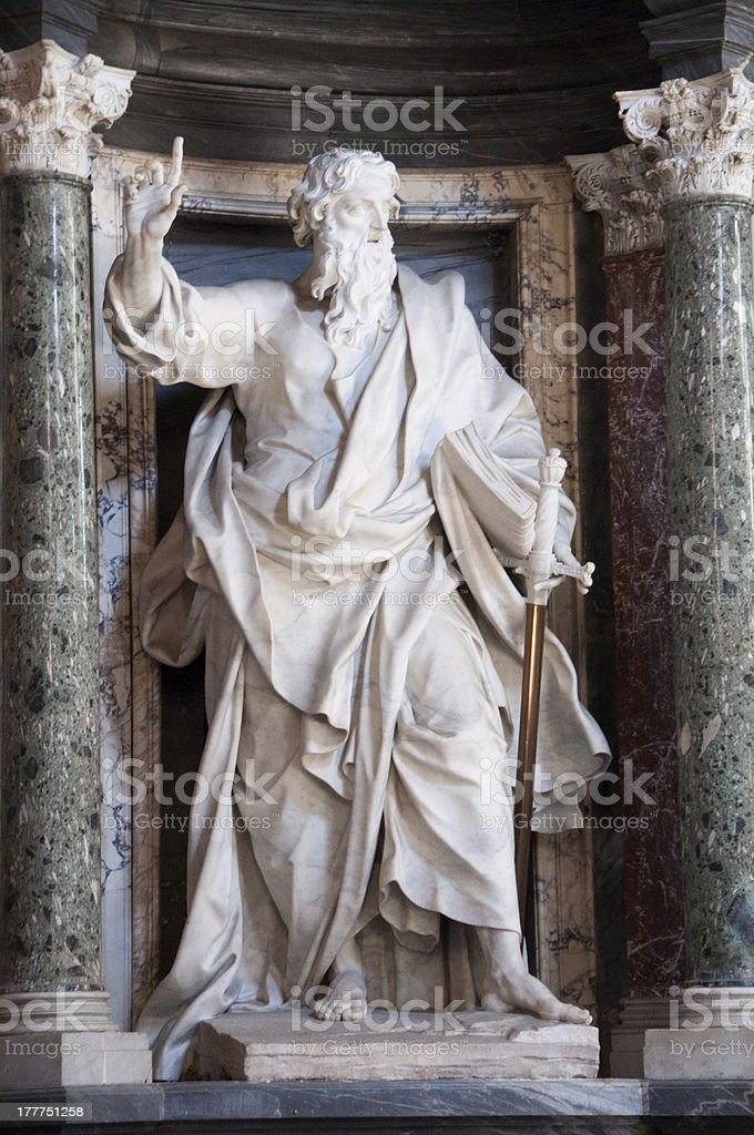 Moses stock photo