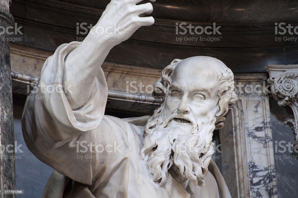 Moses stock photo