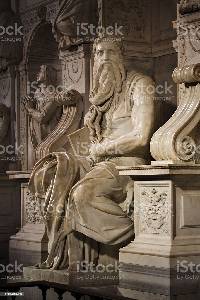 Moses royalty-free stock photo