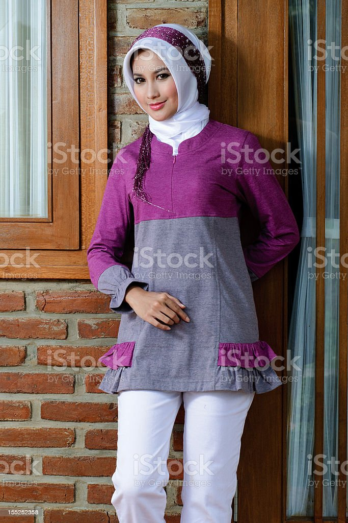 moslem fashion royalty-free stock photo