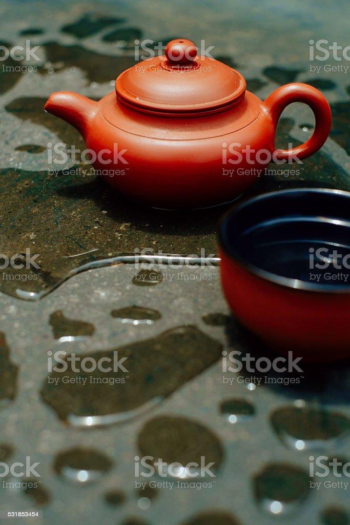 Mosoon tea stock photo