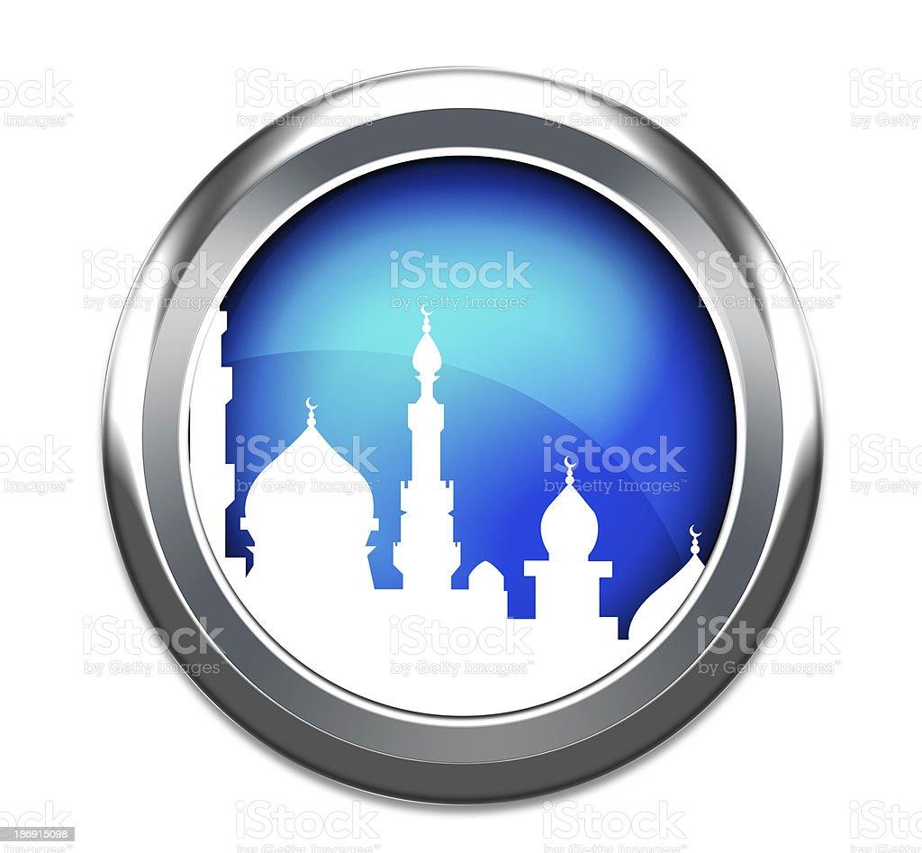 mosque 3d icon stock photo