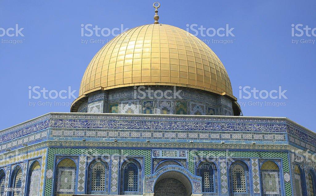 mosqu?e al-aqsa royalty-free stock photo