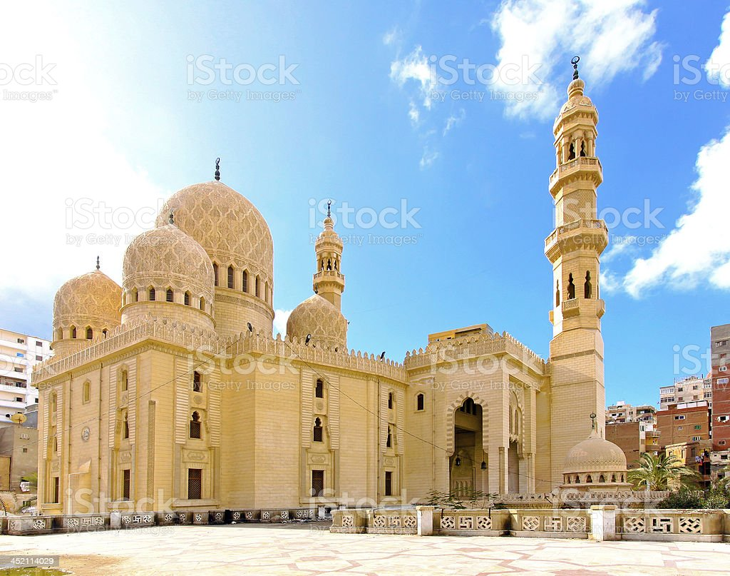 Mosque Alexandria stock photo