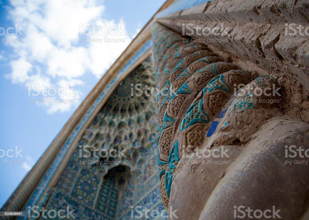 Mosquée et ciel photo libre de droits