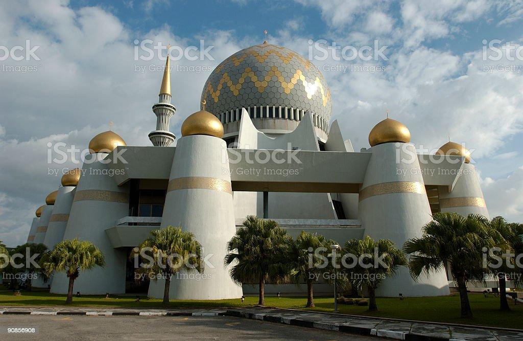 Mosque Borneo Malaysia royalty-free stock photo