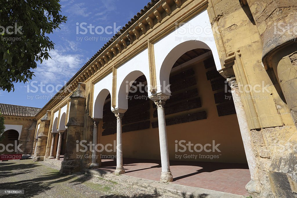 Mosque cathedral in Cordoba, Spain royalty-free stock photo
