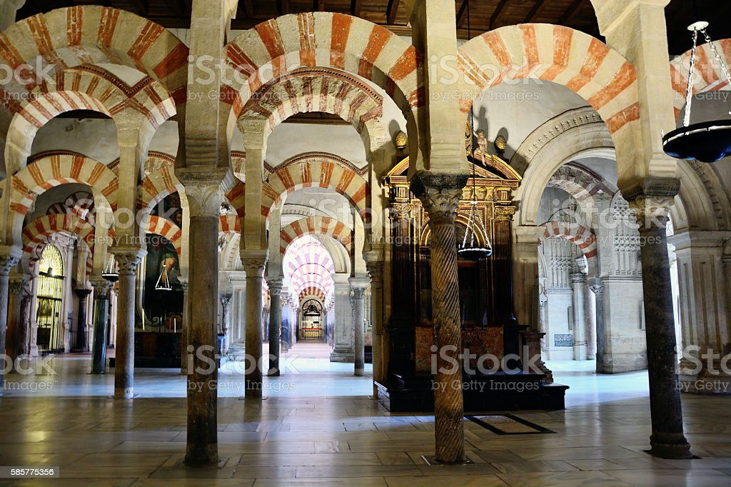 Mosque Cathedral of Cardoba stock photo