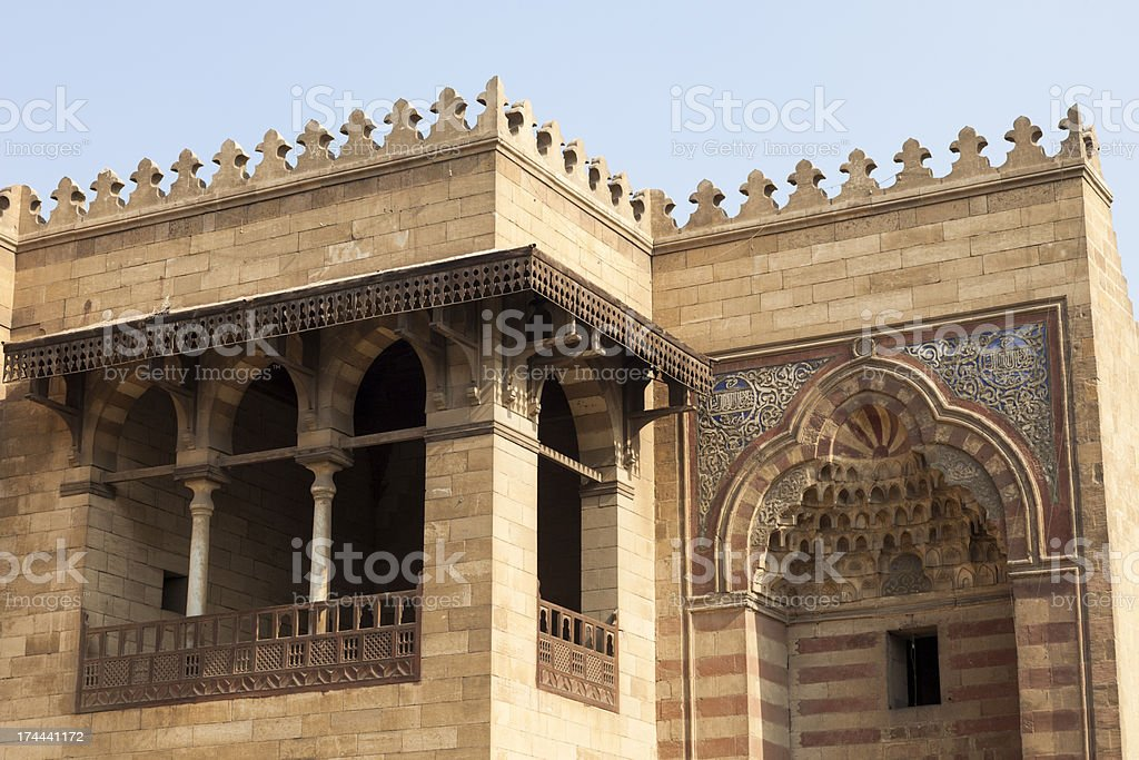 Mosque detail royalty-free stock photo